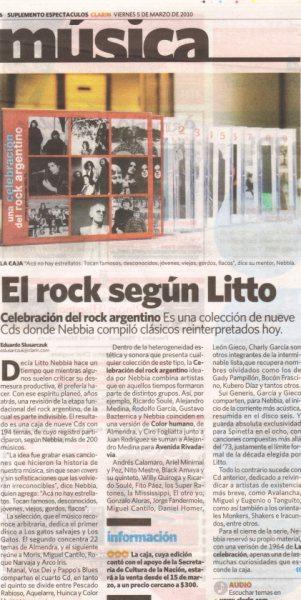 UNA CELEBRACION DEL ROCK ARGENTINO