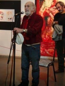 """Homenaje al maestro Manuel Oliveira, artista plástico. Entrevista radial """"Retratos en la ciudad"""""""